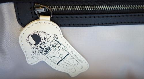 バッグの飾り・宇宙飛行士