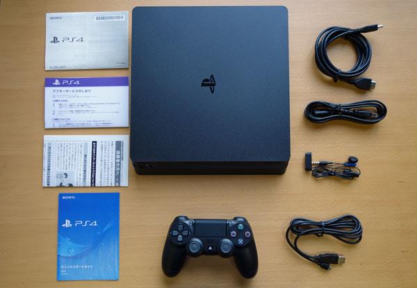 PS4の付属品一式