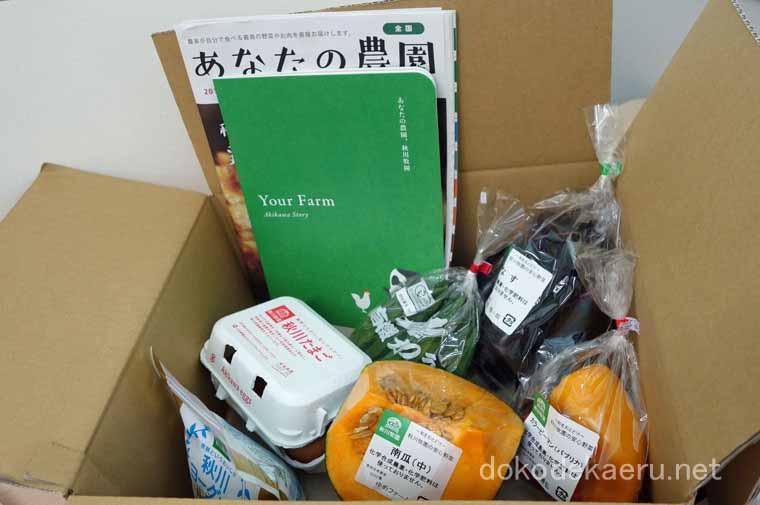 秋川牧園の野菜・卵・乳製品セット(冷蔵)