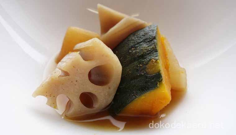 かぼちゃの彩り煮