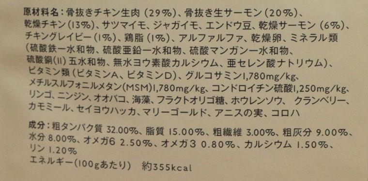 ピッコロドッグフード(Piccolo)の原材料・成分