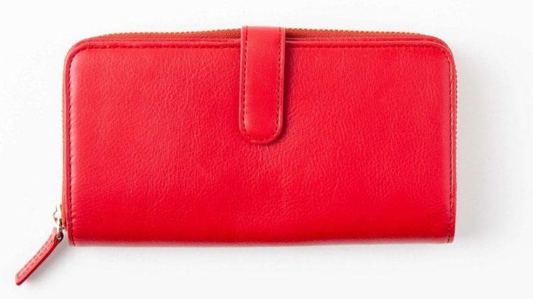 ビジネスレザーファクトリーのレディース財布