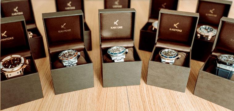 KARITOKE(カリトケ)の料金・取扱時計ブランド