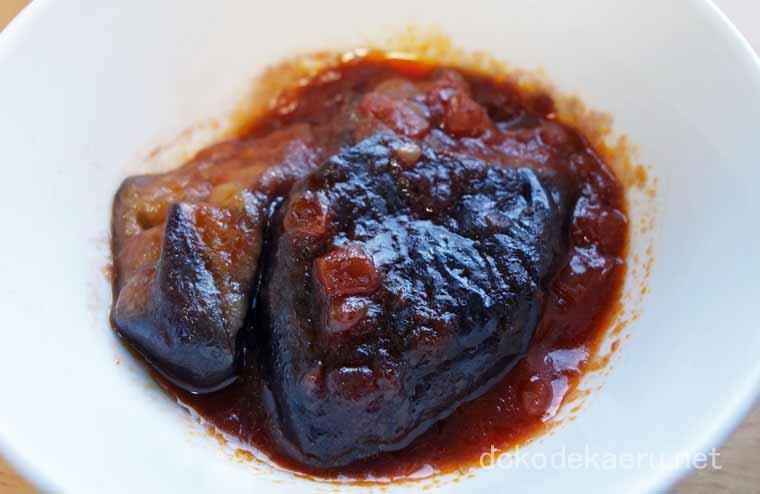 茄子のトマト煮